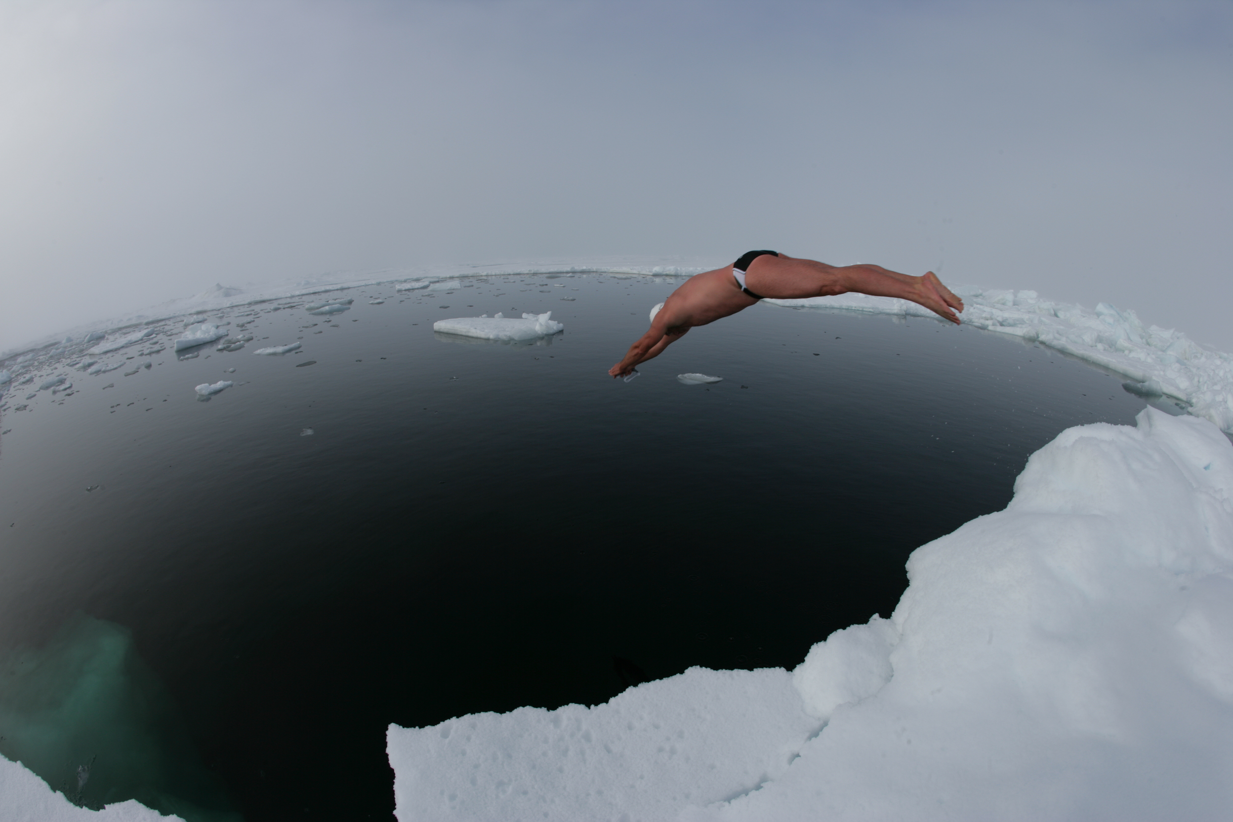 16 - North Pole swim